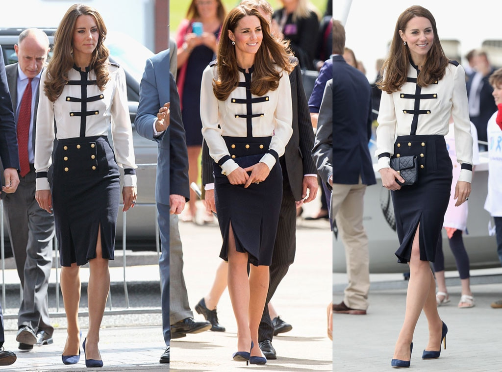 Duchess Kate Middleton, Alexander McQueen outfit
