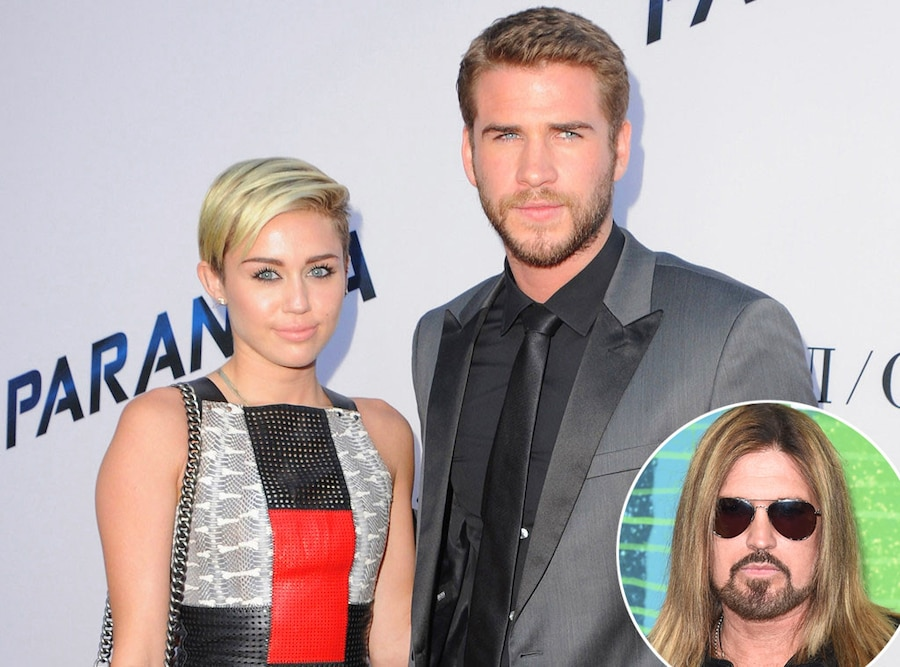 Miley Cyrus, Liam Hemsworth, Billy Ray Cyrus