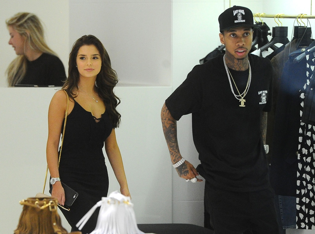 Tyga And Demi Rose Mawby Enjoy Shopping Spree And Dinner