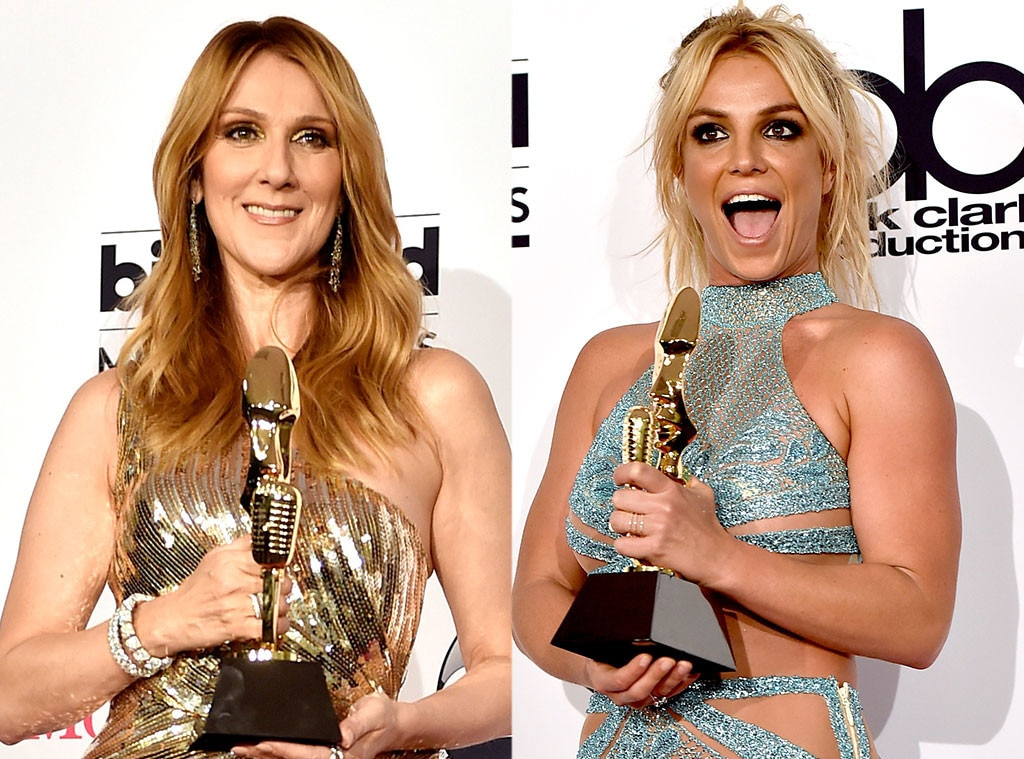 Celine Dion, Britney Spears, 2016 Billboard Awards