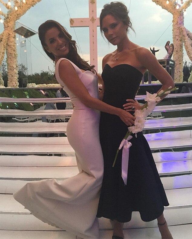 Eva Longoria, Wedding, Victoria Beckham
