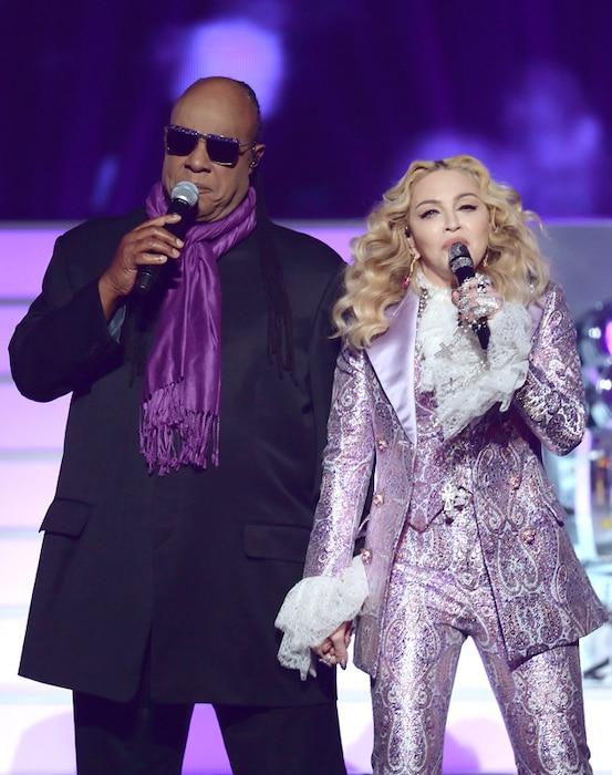 Stevie Wonder,  Madonna, 2016 BIllboard Music Awards, show