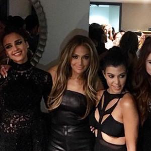 Jennifer Lopez, Kourtney Kardashian, Khloe Kardashian, Meghan Trainor, Laverne Cox, Jessica Alba