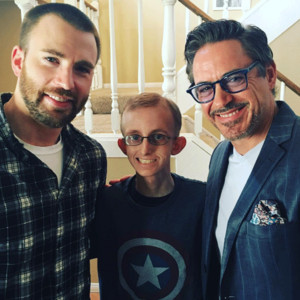 Chris Evans, Robert Downey Jr.