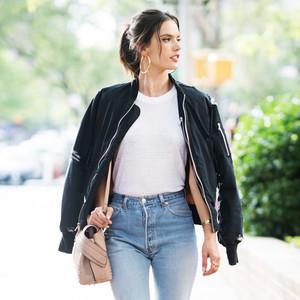ESC: Summer Coats, Alessandra Ambrosio