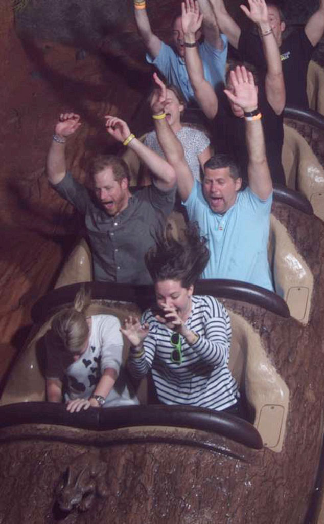 Prince Harry, Splash Mountain, Disneyland