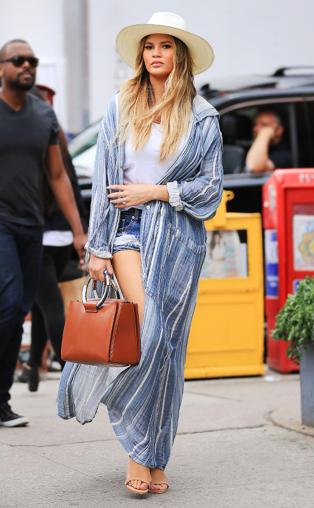 ESC: Summer Coats, Chrissy Teigen
