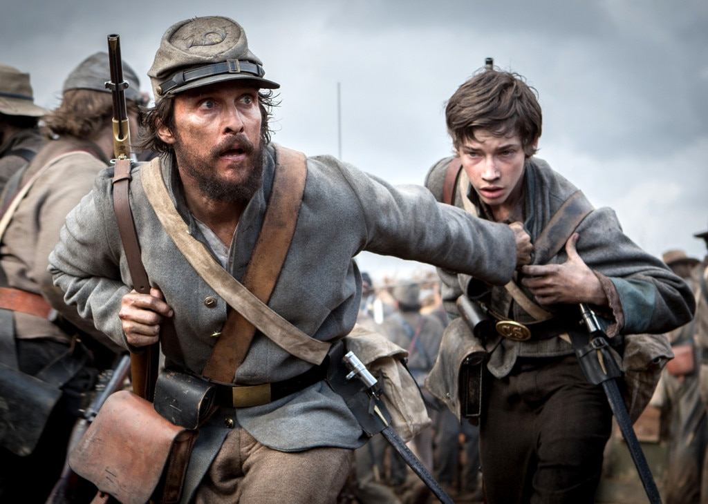 Free State of Jones, Matthew McConaughey, Jacob Lofland