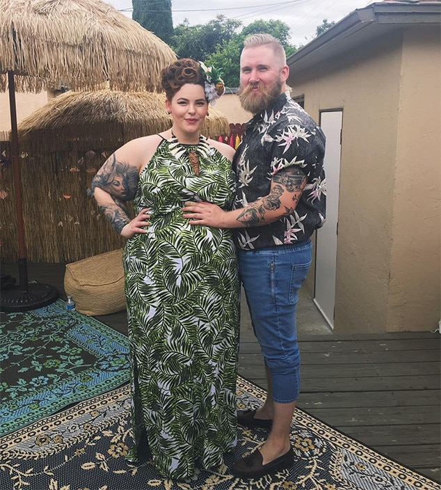 Tess Holliday, Nick Holliday, Baby Bump