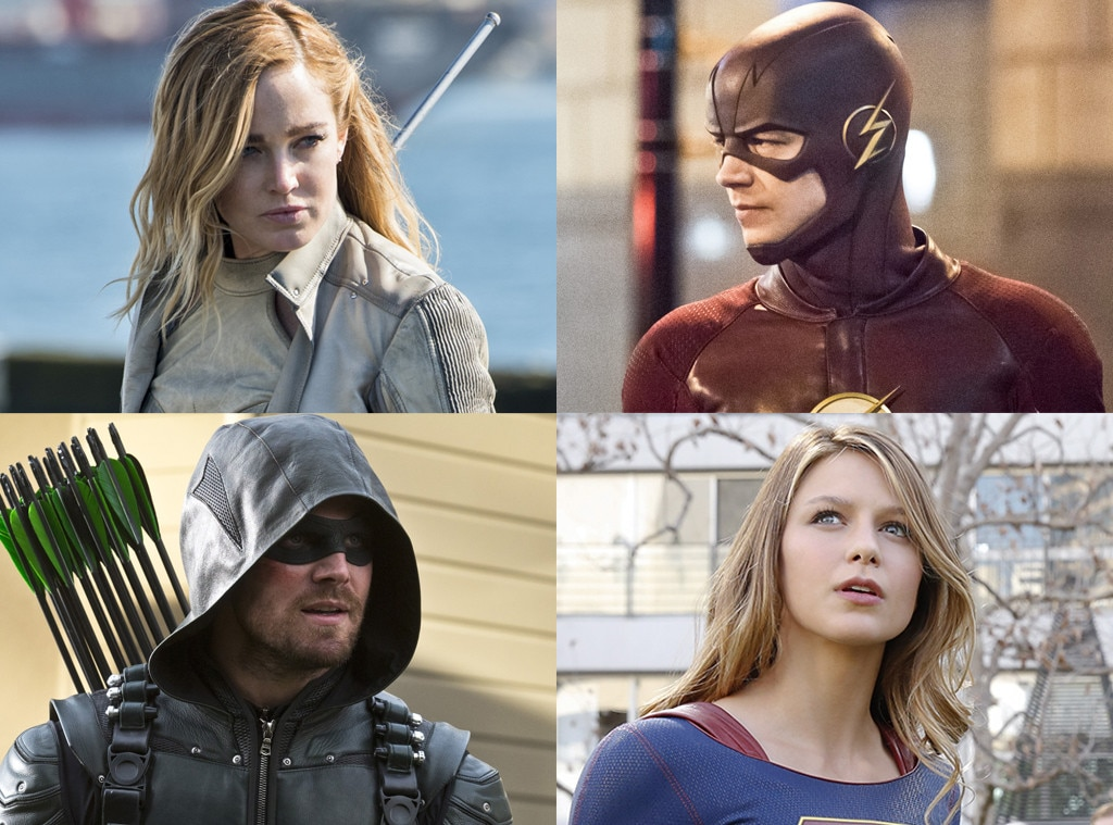 Legends of Tomorrow, The Flash, Arrow, Supergirl
