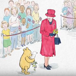 Winnie-the-Pooh, Queen Elizabeth