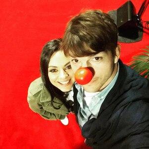 Ashton Kutcher, Mila Kunis, Red Nose Day 2016