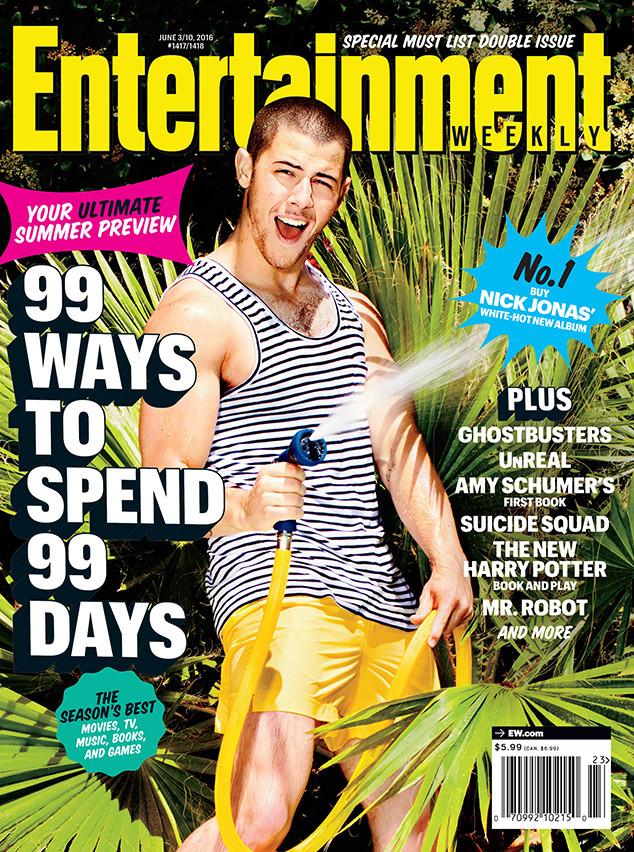 Nick Jonas, Entertainment Weekly