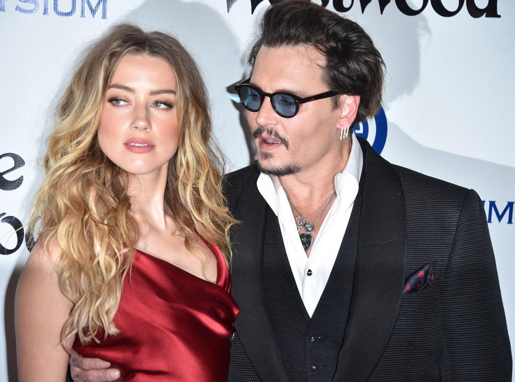 Amber Heard, Johnny Depp,  2016 Art Of Elysium