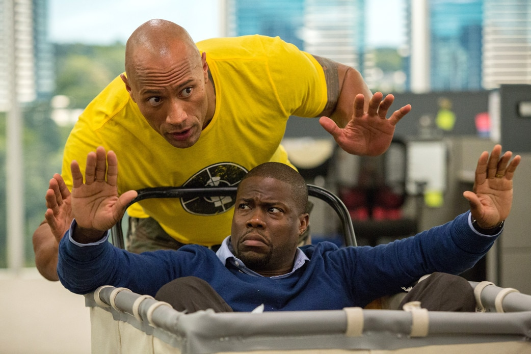 CEntral Intelligence, Dwayne Johnson, Kevin Hart