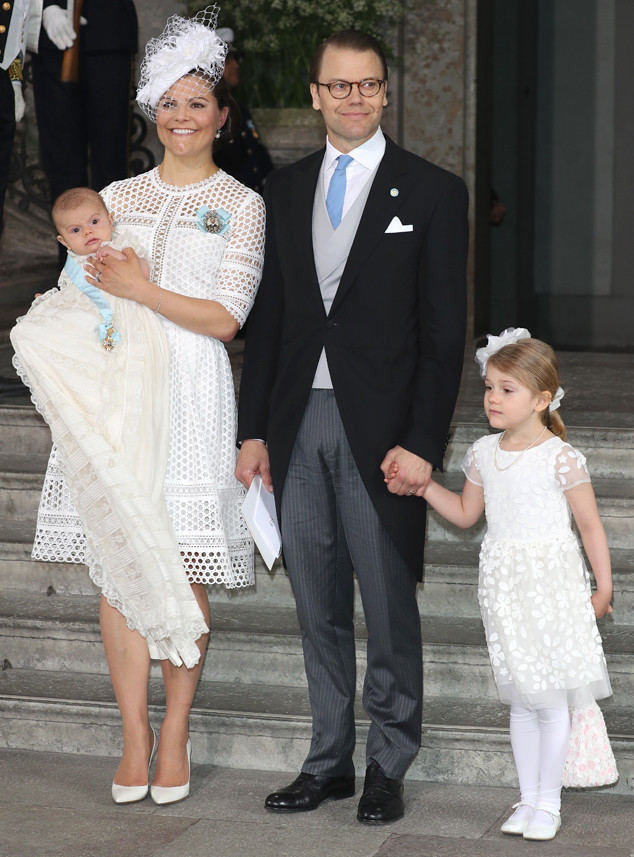 Crown Princess Victoria of Sweden, Prince Oscar, Prince Daniel, Princess Estelle