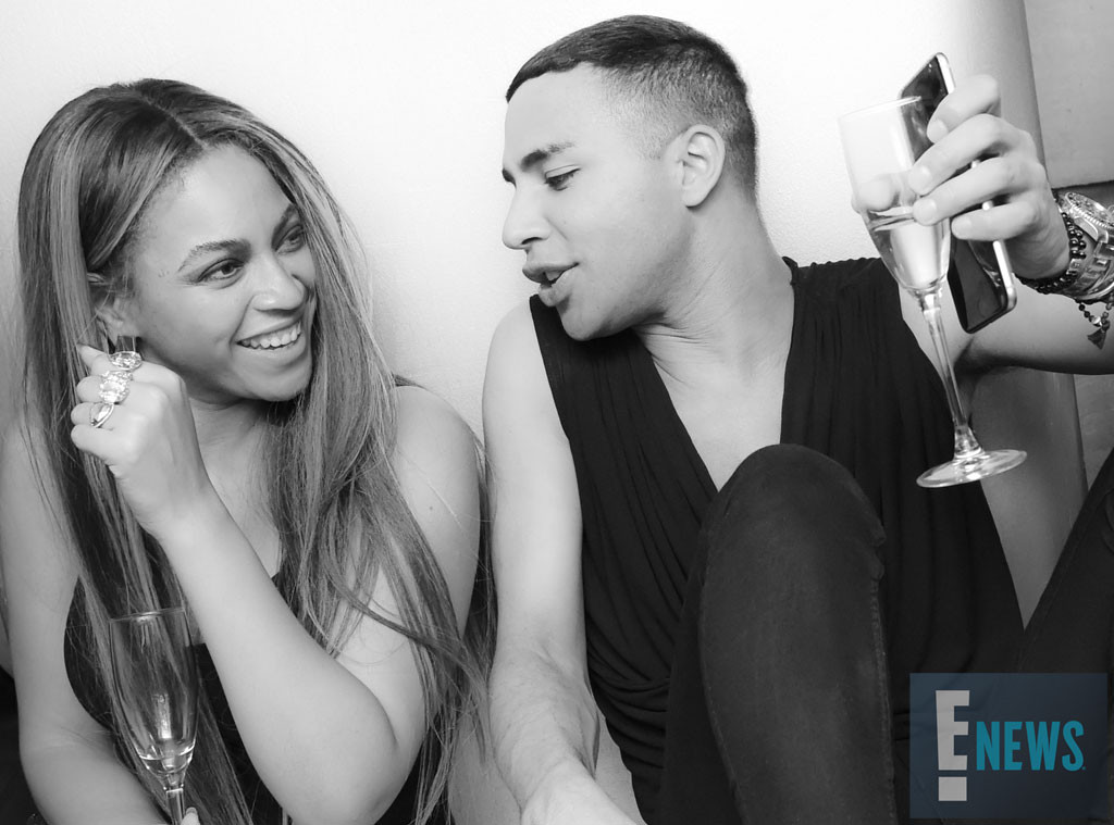 Beyonce, Olivier Rousteing, MET Gala 2016, Inside Party Pics, Exclusive
