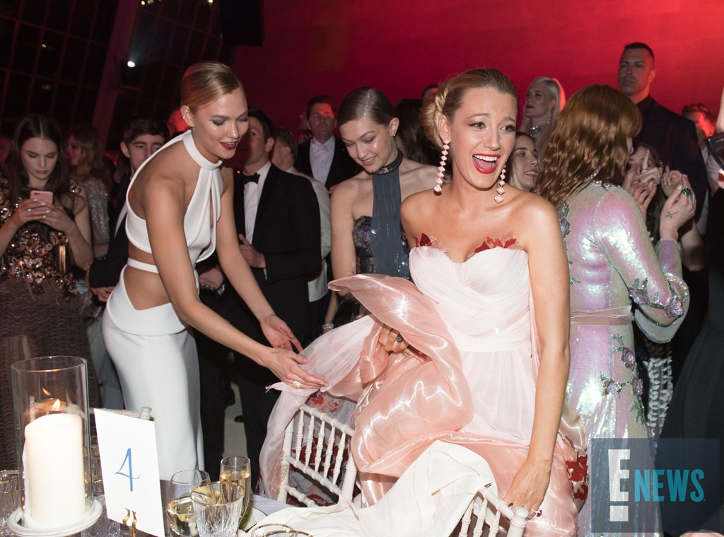 Karlie Kloss, Blake Lively, MET Gala 2016, Inside Party Pics, Exclusive