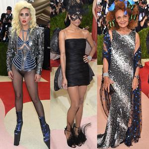 Zoe Kravitz, Lady Gaga, Diane Von Furstenberg, MET Gala 2016, Arrivals