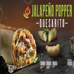 Taco Bell Jalapeno Popper Quesarito