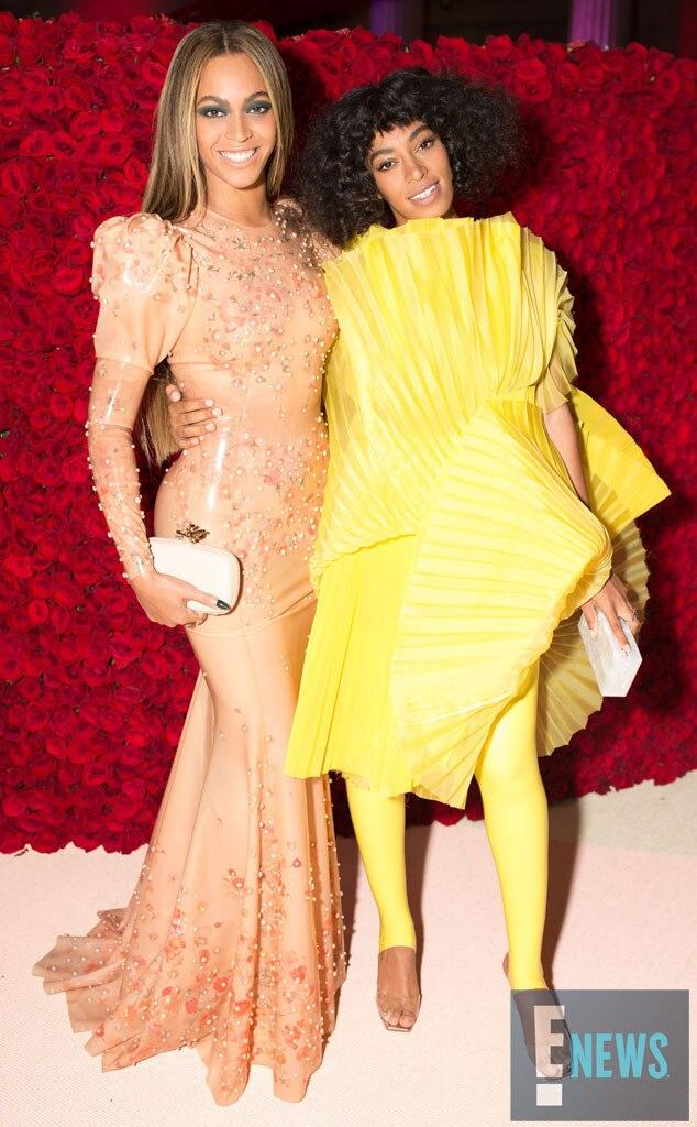 Beyonce, Solange, MET Gala 2016, Inside Pics, Exclusive