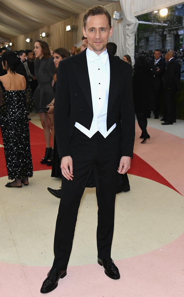 Tom Hiddleston, MET Gala 2016, Arrivals
