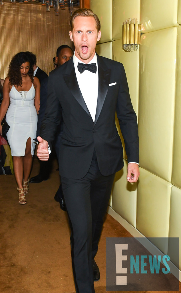 MET Gala 2016, After Party, Boom Boom Room, Alexander Skarsgaard