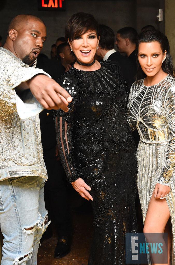 Kim Kardashian, Kanye West, Kris Jenner, Olivier Rousteing, MET Gala 2016, Inside Party Pics, Exclusive