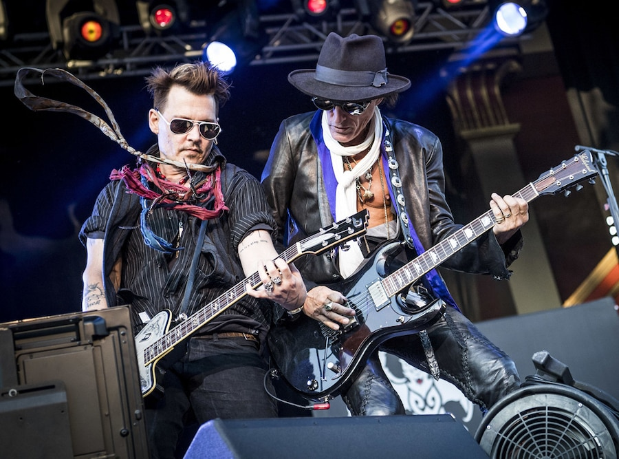 Johnny Depp, Joe Perry