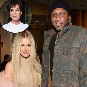 Khloe Kardashian, Lamar Odom, Kris Jenner