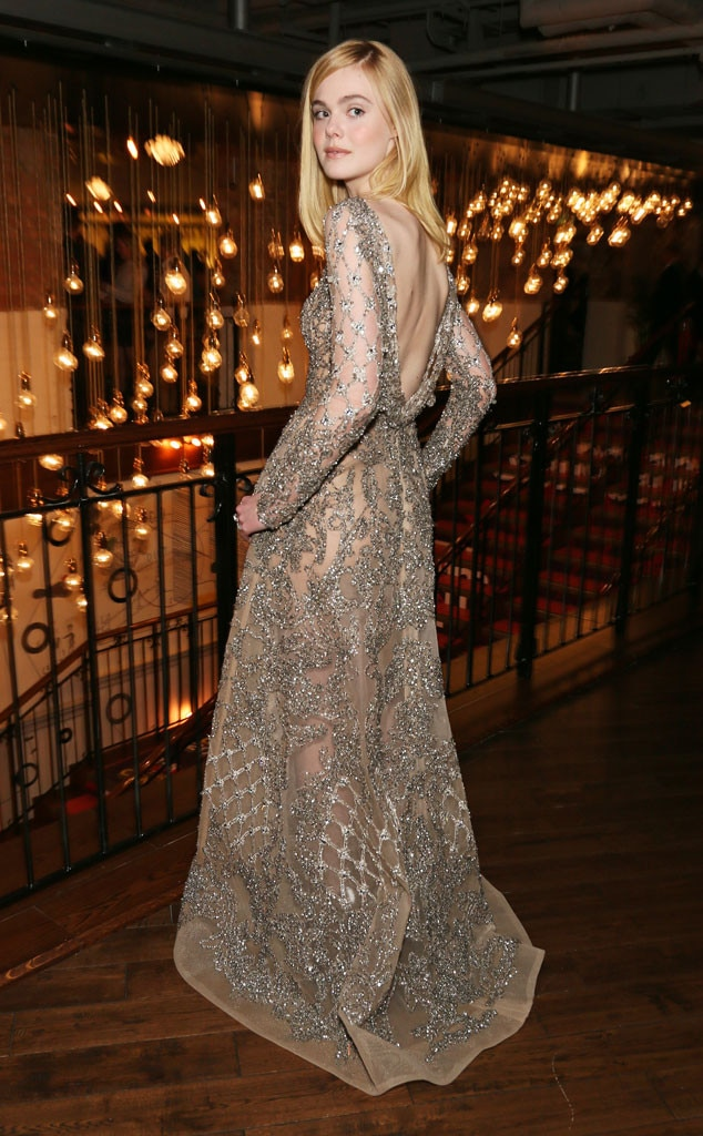 Elle Fanning From Movie Premieres Red Carpets And Parties