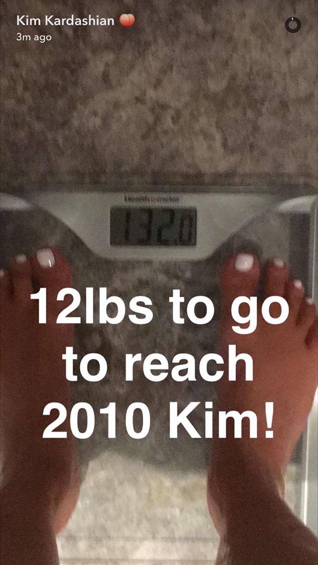 Kim Kardashian, Snapchat