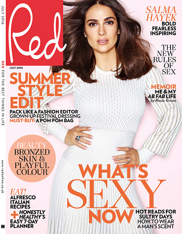 Salma Hayek, Red Magazine