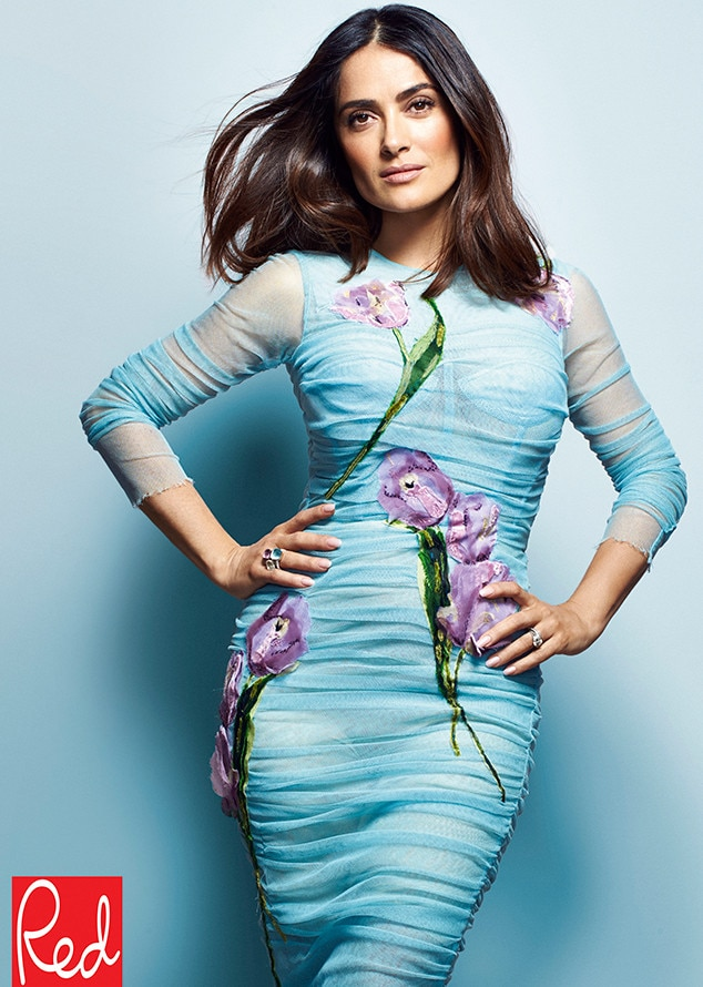 Salma Hayek, Red Magazine