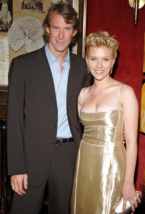 Michael Bay, Scarlett Johansson