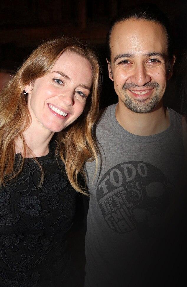 Emily Blunt, Lin-Manuel Miranda
