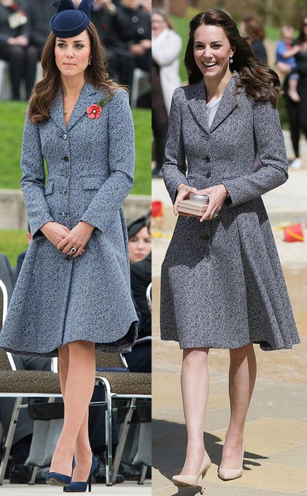Kate Middleton, Recycled Coat