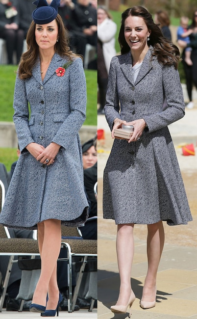 Kate Middleton Stuns Again In Alexander Mcqueen Dress She Wore To Princess Charlotte 39 S