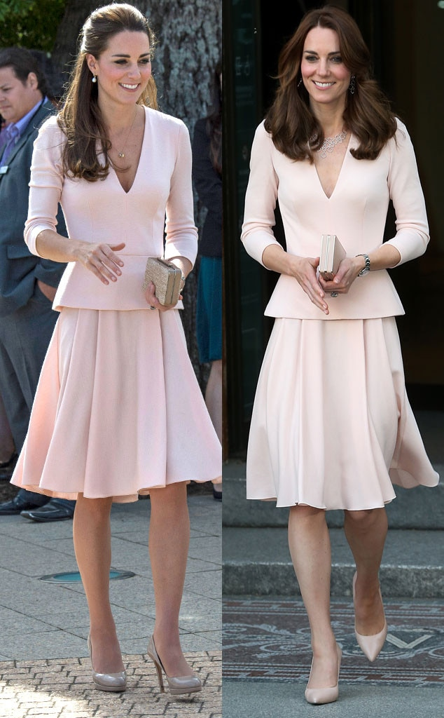 Kate Middleton Recycles Two Outfits In One Day Like An