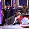Elizabeth Olsen, Jeremy Renner, Sebastian Stan, Paul Bettany, Questlove, Jimmy Fallon, The Tonight Show