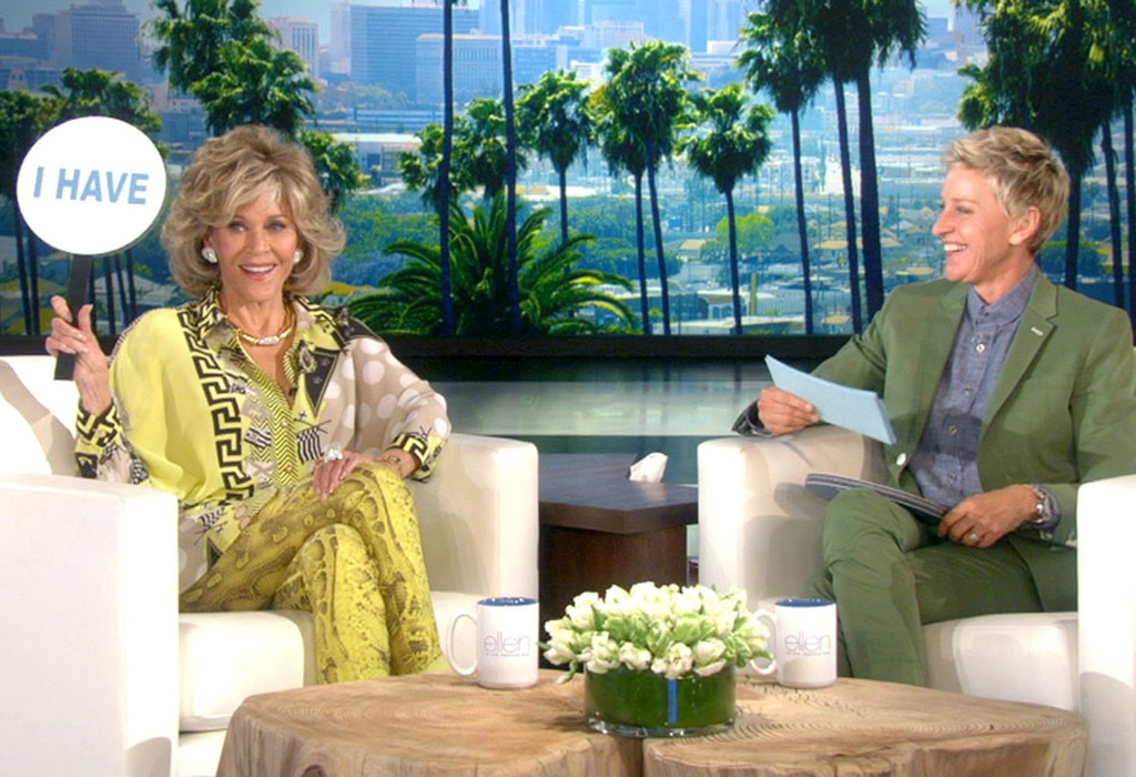 Jane Fonda, Ellen Show, Never Have I Ever
