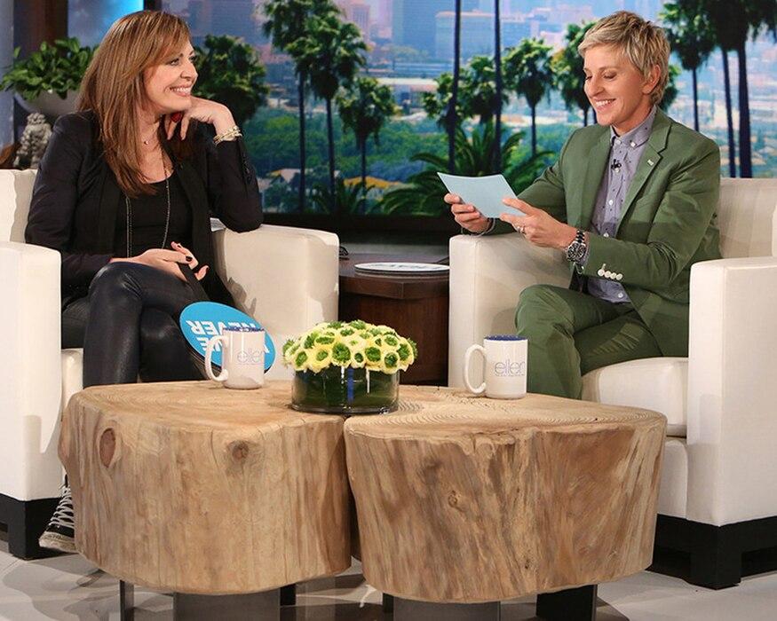 Allison Janney, Ellen Show, Never Have I Ever