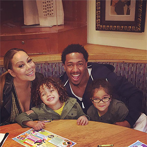 Mariah Carey, Nick Cannon, Twins, Moroccan, Monroe
