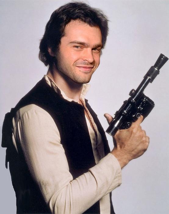Star Wars, Han Solo Photoshopped, Alden Ehrenreich