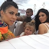 Kourtney Kardashian, Kim Kardashian, Kanye West, Penelope Disick, North West, Cuba