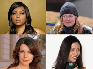 Lorelai Gilmore, Tami Taylor, Jessica Huang, Cookie Lyon