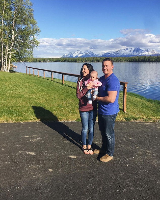 Bristol Palin, Dakota Meyer, Daughter Sailor Grace