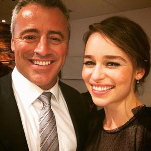 Emilia Clarke, Matt LeBlanc