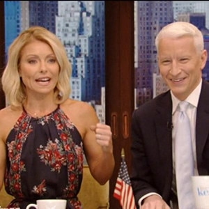 Anderson Cooper, Kelly Ripa, Live! With Kelly
