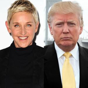 Ellen DeGeneres, Donald Trump